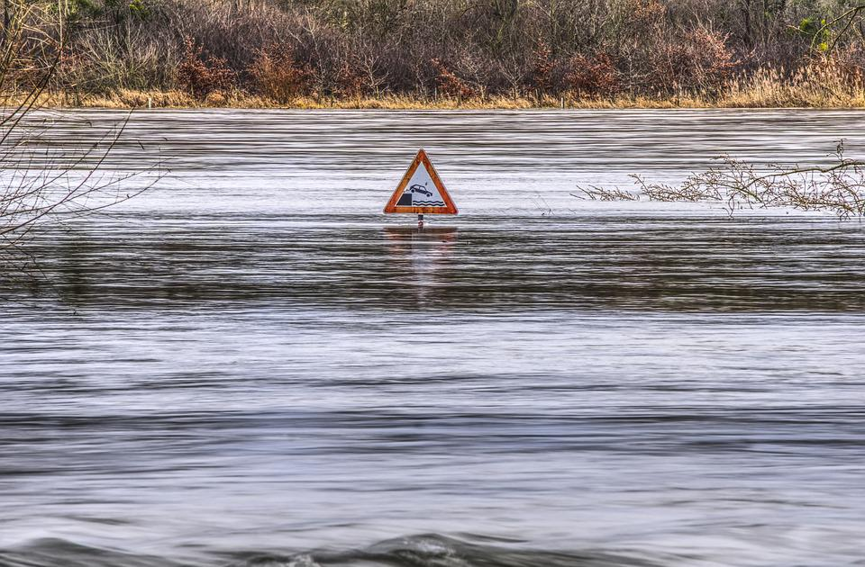 Free Photo High Water Flow River Flooding Free Image