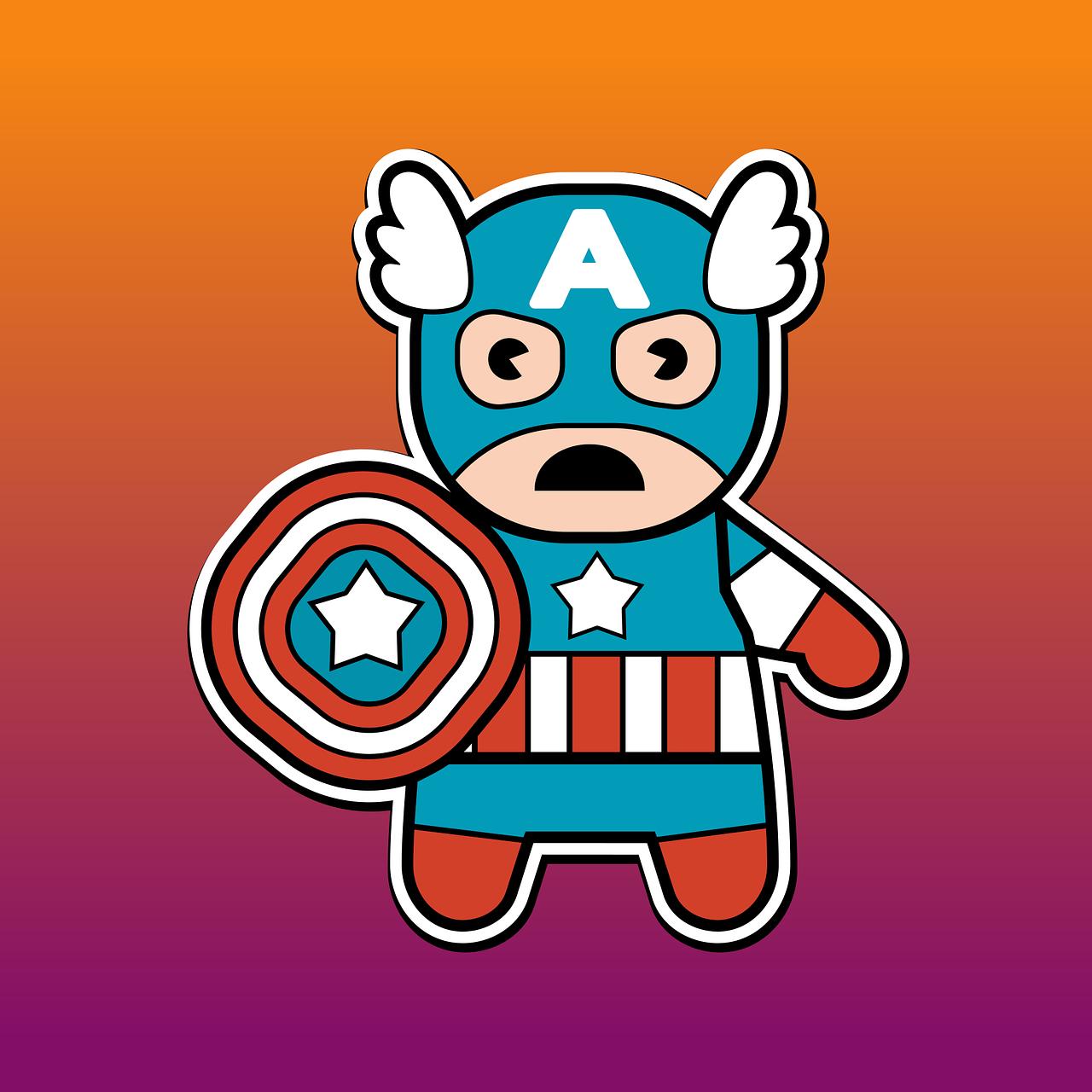 Sketsa Lucu Karakter Gambar Vektor Gratis Di Pixabay