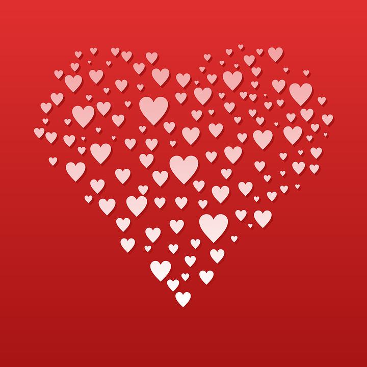 Liebe Romantik Herz Kostenlose Vektorgrafik Auf Pixabay