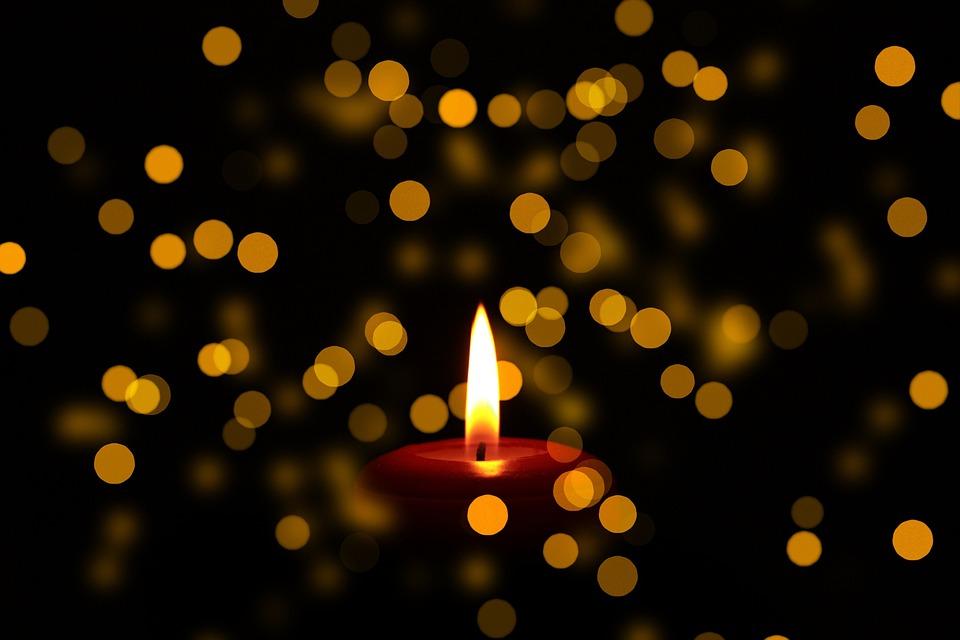 Trauer Kerze Todesanzeige Kostenloses Foto Auf Pixabay