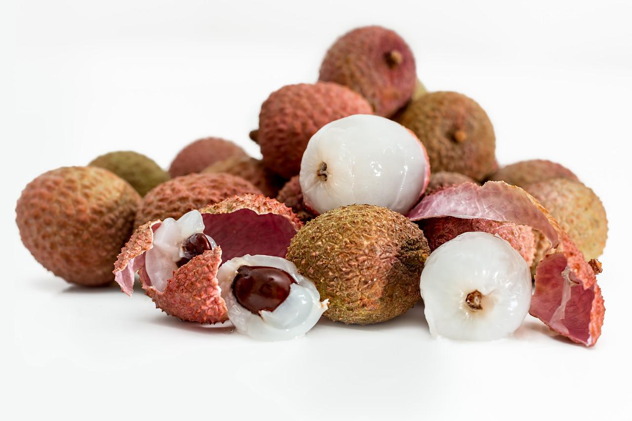 Lychee Litchi Tropical Fruit - Free photo on Pixabay