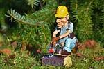 lumberjack, chainsaw