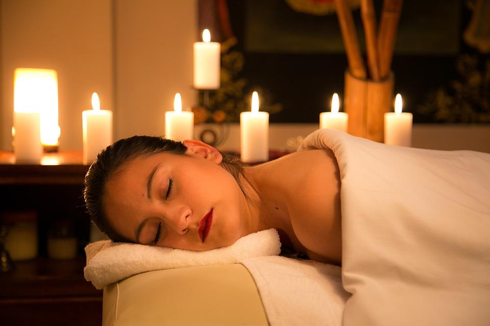 Relax, Candela, Camera, In Casa, Hotel, Massaggio