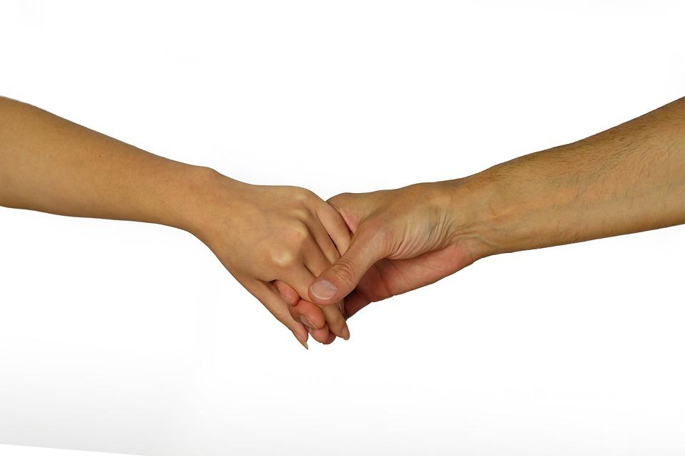 Hände, Halten, Festhalten, Berührung, Zuneigung
