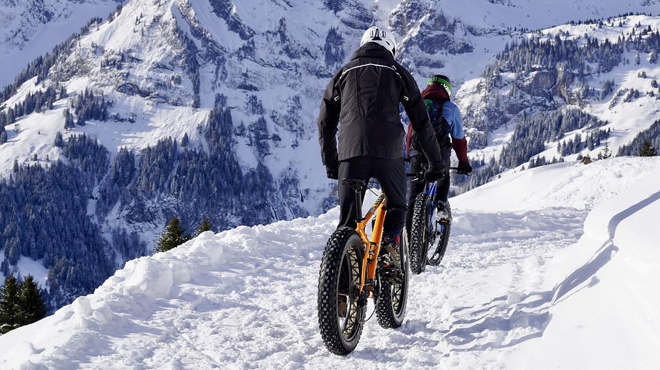 Snow, Fatbikes, Mountain Bikes, Mtb, Bicycles, Cycling