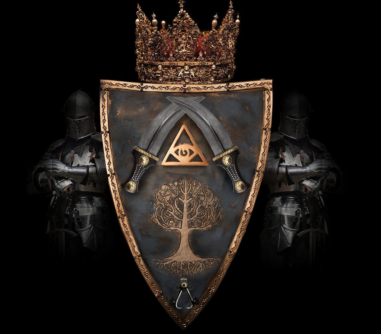 рыцарские гербы фото этих