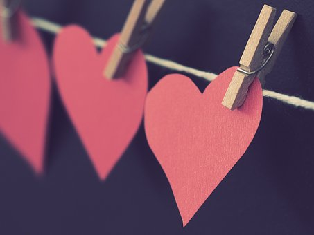 Romance, Love, Heart, Hanging