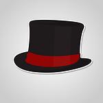 hat, gentleman, retro