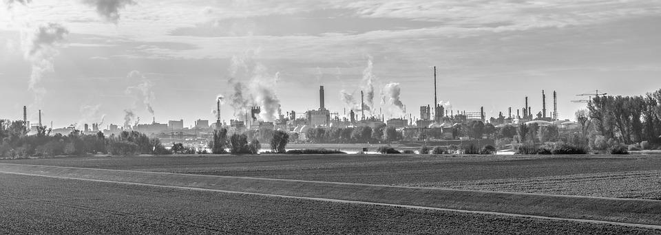 Industry, Chemistry, Factory, Basf, Exhaust Gases
