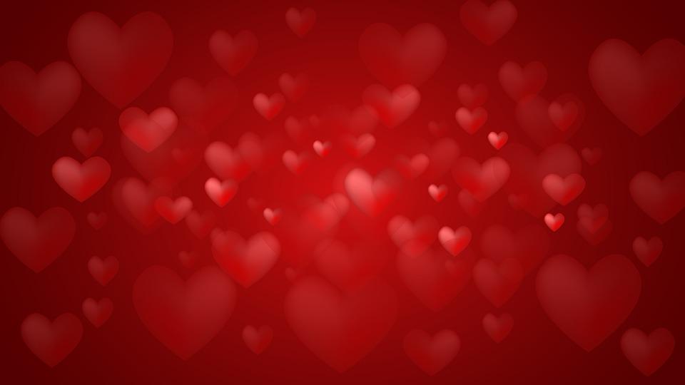 Fondos De Corazones Y Estrellas: De Fondo Corazones El Amor · Imagen Gratis En Pixabay