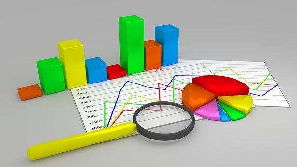 Graf, Diagram, Tillväxt, Rapport