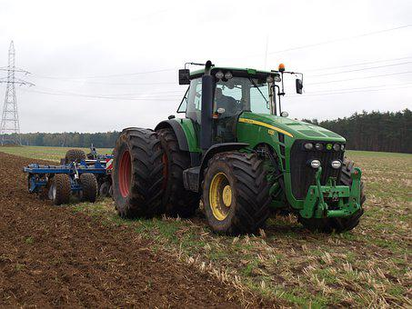 Tractor, Soil, Machine, Farm, Plow