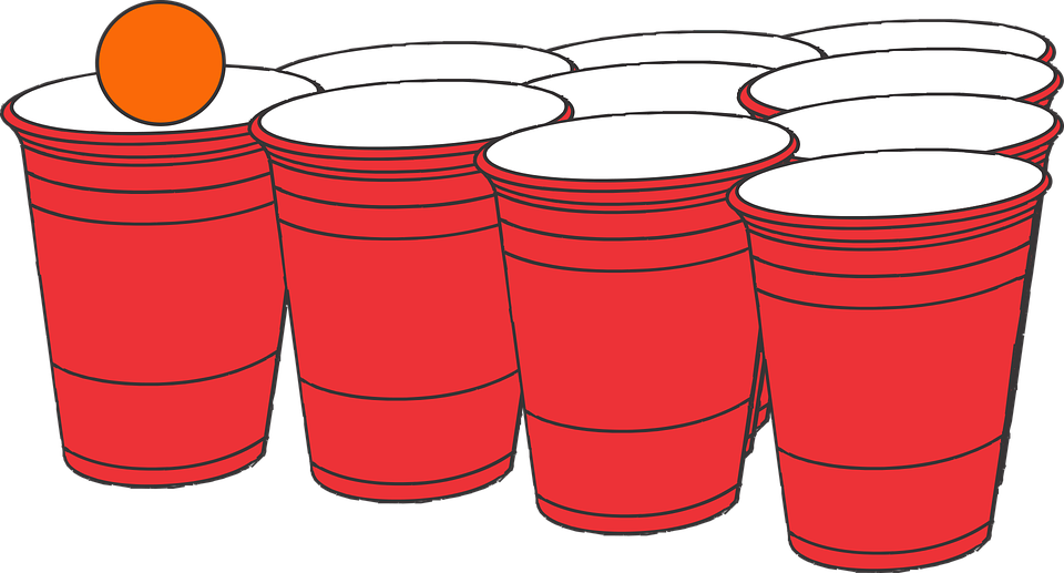 Beer Pong Frat Party  Free Vector Graphic On Pixabay-5364