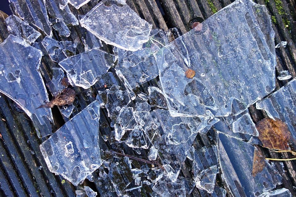 Ice, Frozen, Splinters, Ice Splinters, Smashed Ice