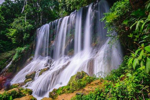 Wasserfall, Gewässer, Natur, Kaskade