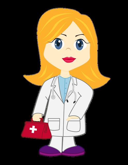 Illustration Nice Girl Doctor Dr 183 Free Image On Pixabay