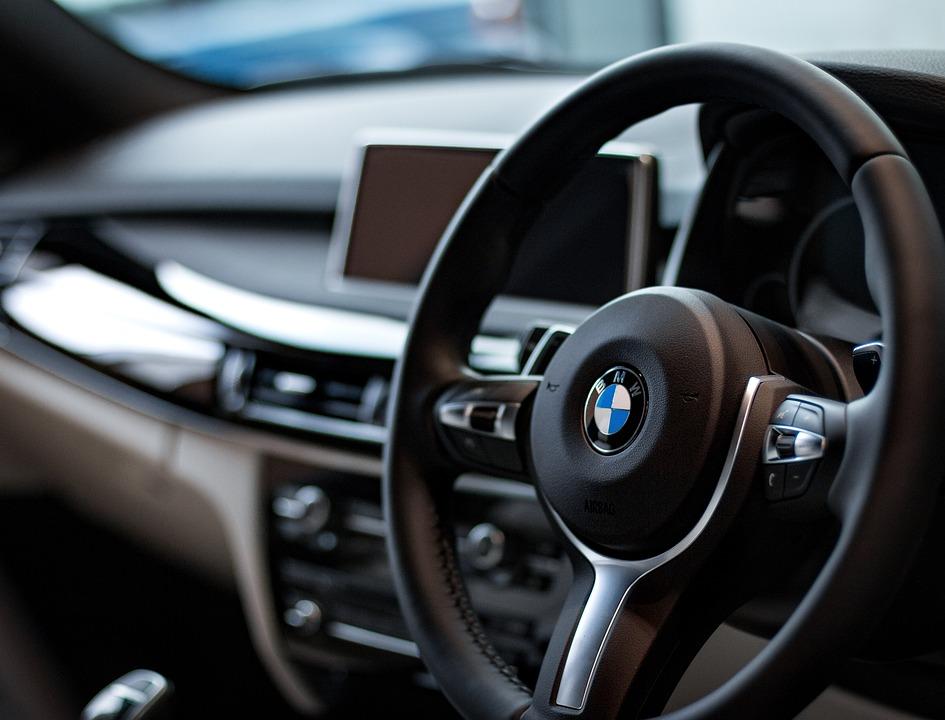 Bmw Car Dashboard Steering Free Photo On Pixabay