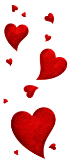 Valentine'S Day, Shape, Heart, Hearts