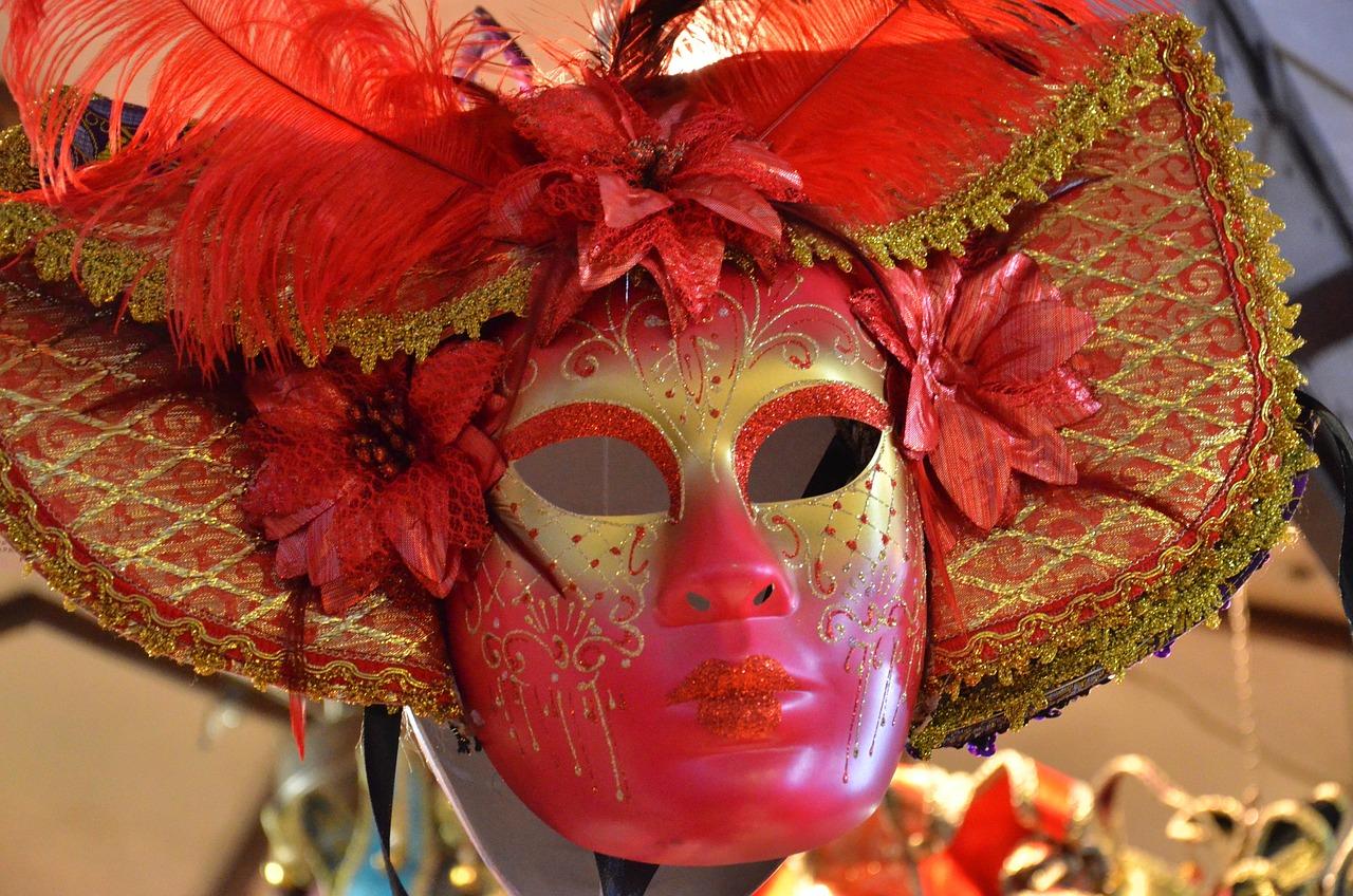 Картинки с масками для карнавала