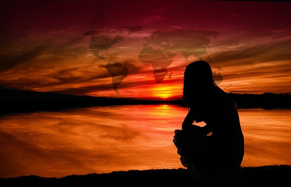 Matahari Terbenam Pemandangan Laut Foto Gratis Di Pixabay