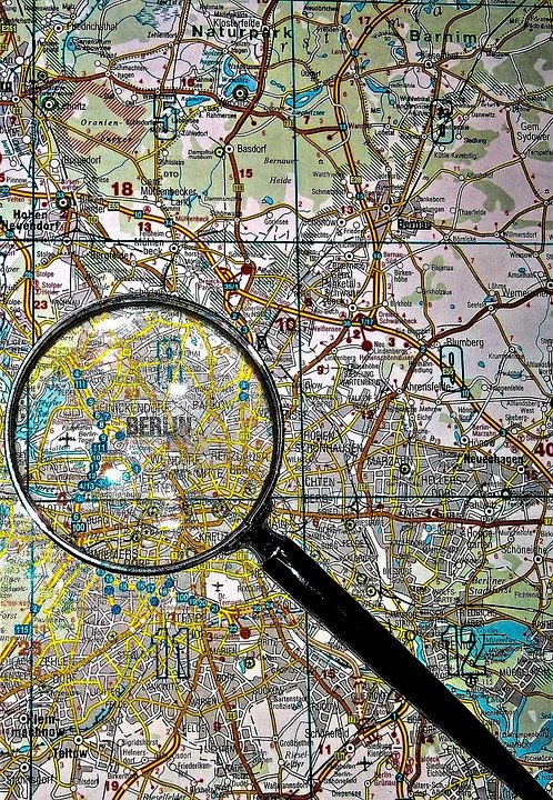 Map Magnifying Glass Germany Road Free photo on Pixabay