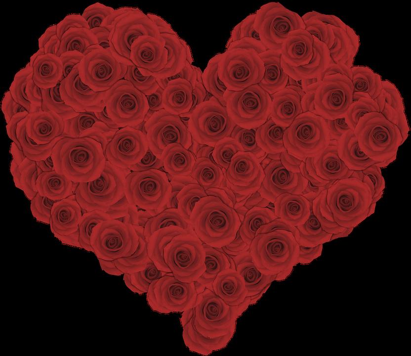 организациях картинка сердечко с розочками купить
