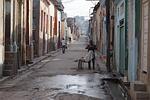 road, alley, city