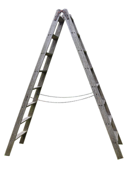 Wood, Head, Wooden Ladder, Garden, Boost
