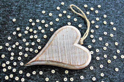 Wooden Heart, Valentine'S Day, February