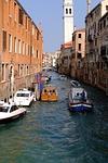 channel, gondola, venetian