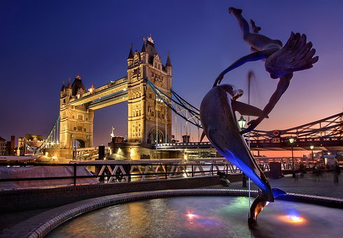 London, Tower Bridge, England, Monument