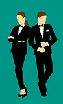 business, man, suit