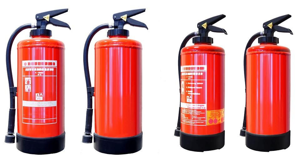огнетушители: первичные средства пожаротушения