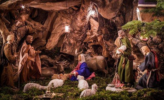 Santons et crèches de Noël  - Page 4 Crib-3079211__340