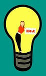 idea, bulb, invention