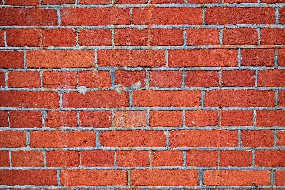 Brick Wall Red Seam