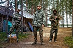 forest, military, weapons