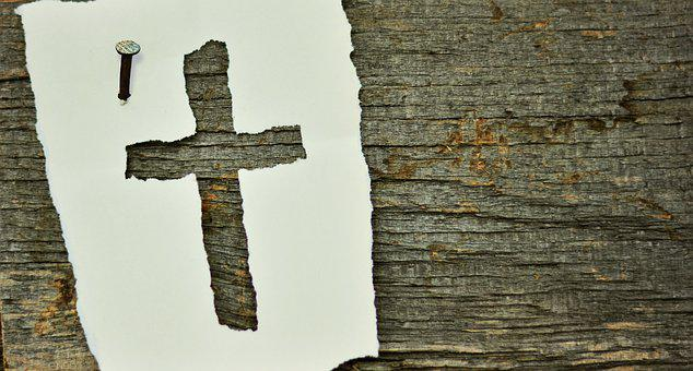 Cross Nail Symbol Wood Old Woods