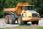 dump truck, machine, heavy