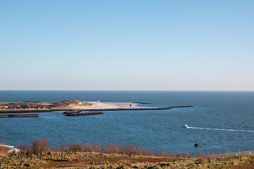 Helgoland, Düne, Küste, Reise, Himmel