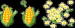 corn, blast, popcorn