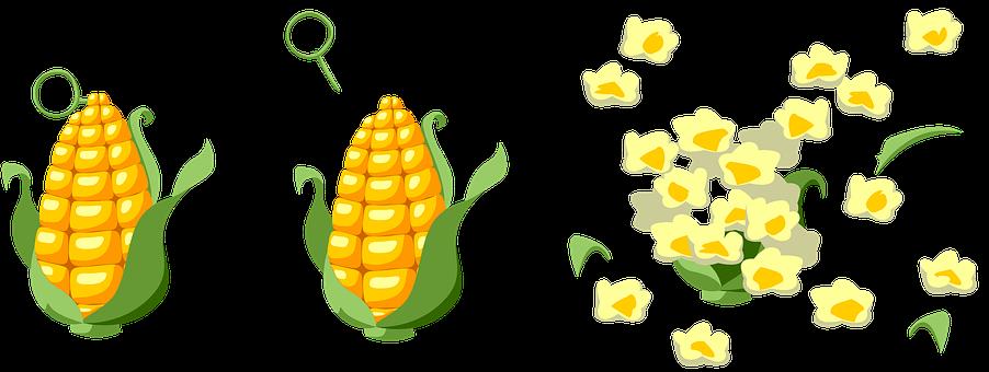 Corn, Blast, Popcorn, Grenade