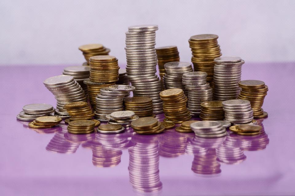 お金を稼ぐ, コイン, ファイナンス, 現金, 降圧, 利益, セーフティ ボックス, 店舗