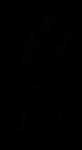 silhouette, woman