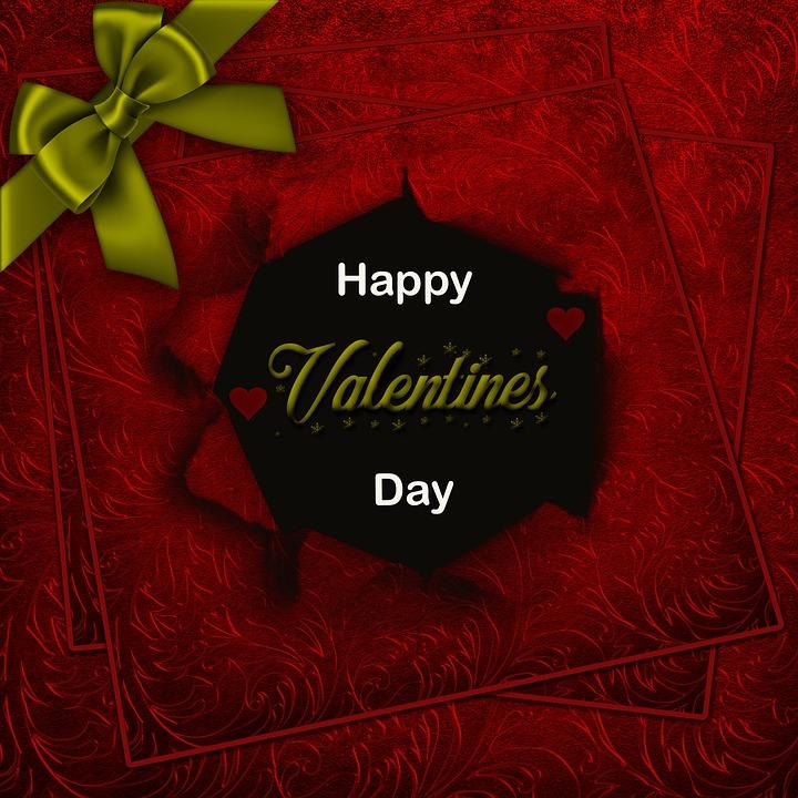 Happy Valentinstag, Hintergrund, Rot, Textur, Liebe