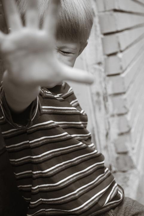 Menino, Criança, Jovem, Pessoa, Mão, Parar