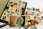 communist, lenin, postage stamp