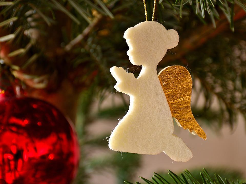 Christmas Ornaments Angel Felt Free Photo On Pixabay