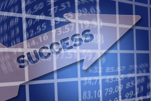 成功, 矢印, アイデア, 能力, ビジョン, ターゲット, マーケティング