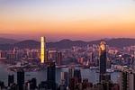 city, sunset, architecture